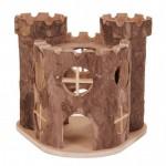 Castel Lemn Hamsteri 17*15*12cm 6168